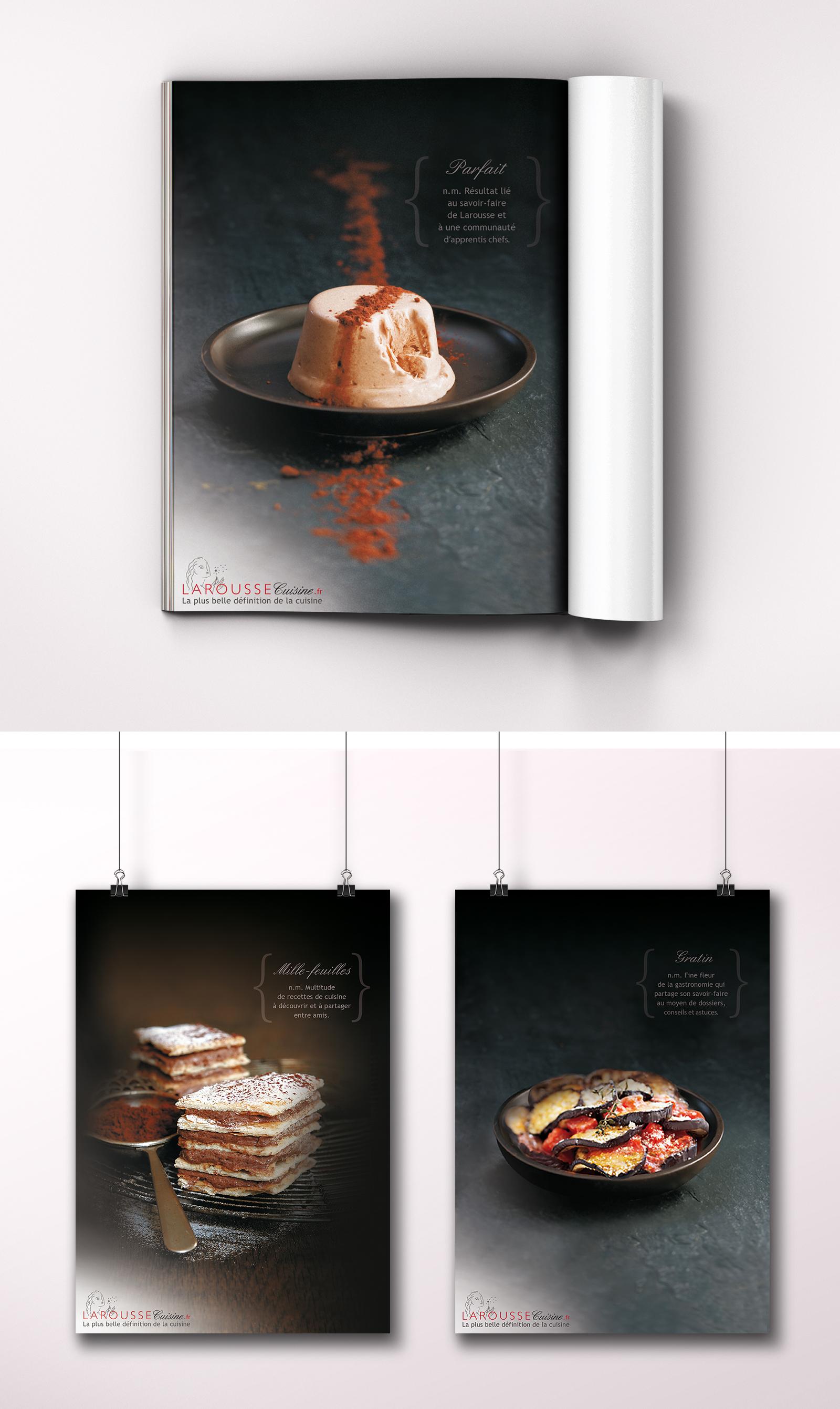 larousse cuisine ganoee portefolio. Black Bedroom Furniture Sets. Home Design Ideas